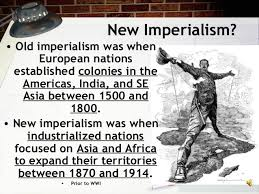 imperialism  new imperialism