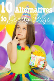 do you feel like a goody bag is must for kids birthday parties but hating