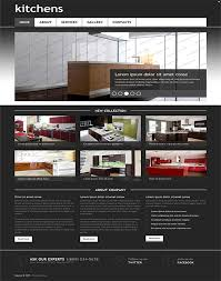 Kitchen Website Design Interior Custom Inspiration