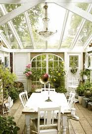 Perfect Cottage Sunroom Decorating Ideas Lovely Cottagestyle Orangery Room Where Owners Could Dine And Simple Design