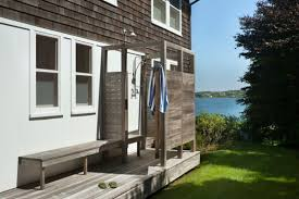 outdoor shower. 15 Outdoor Showers That Will Totally Make You Want To Rinse Off In The Sun (PHOTOS) | HuffPost Shower
