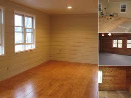 Remodelaholic   Amazing Plank Look Plywood Flooring TutorialView process
