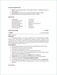 30 Beautiful Sample Resume For 2 Years Experience In Software