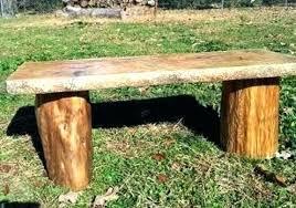 log bench ideas making log benches cedar log bench half used logs making a likable making log bench ideas