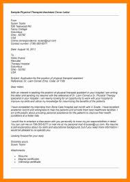 12 Physical Therapy Cover Letter Ideas Collection Cover Letter