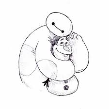 Big Hero 6 Drawing At Getdrawingscom Free For Personal Use Big