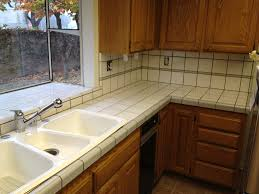 white tile kitchen countertops. Have The Ceramic Tile Kitchen Countertops For Your Home Diy White N
