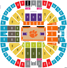 Little John Arena Seating Chart 38 Abundant Littlejohn Coliseum Seating