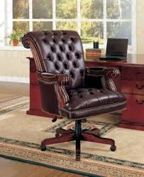 antique leather office chair. marvelous office swivel chair featuring brown upholstered leather cover combine antique l