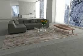cream cowhide rug big gray beige and white patchwork cowhide rug designed in stripes in loft cream cowhide rug