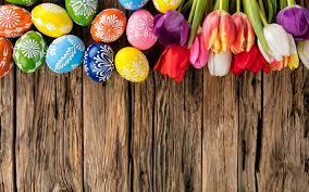 Assi Di Legno Colorate : Scarica sfondi uova di pasqua assi legno