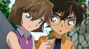 Conan x Ai (33) [OVA 7] Conan and Haibara holding hands. - YouTube