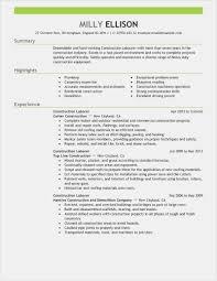Cover Letter 26 General Laborer Resume Download Best Resume
