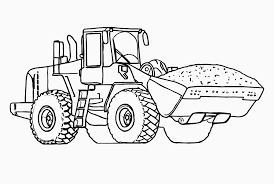Small Picture Construction Vehicles Coloring Pages Wallpaper Download