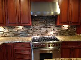 Perfect Stone Veneer Kitchen Backsplash Also Referred To As Stacked For Innovation Design