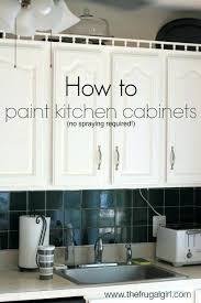 spray paint kitchen cabinetsHow To Paint Kitchen Cabinets Spray Painting Kitchen Cabinets