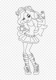This is a great coloring sheet that can be turned into a lovely greeting card from your kid to his best friend. Clawdeen Wolf Sad Faced Coloring For Kids Monster High Monster High Munecas Colorear Hd Png Download 640x1119 3984989 Pngfind