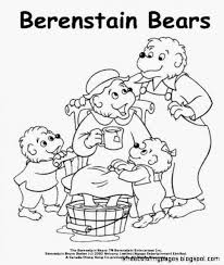 Small Picture The Berenstain Bears Coloring Pages Free Coloring Pages