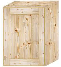 wall pine 1 door kitchen cabinet 500mm wide