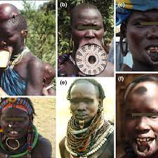 lip plates and plugs in africa a