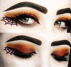 spider web makeup for easy last minute makeup looks