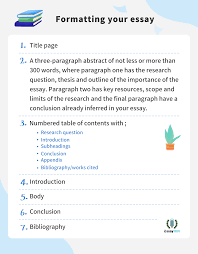 3 5 Essay Format Learning Through Every Step Of Comprehensive Essay