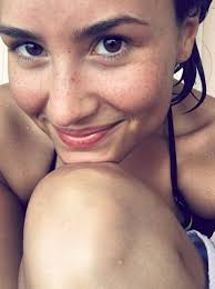 demi lovato without make up picture insram