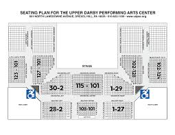 Blossom Music Center Lawn Seating Chart Brown County Music Center Detailed Seating Chart