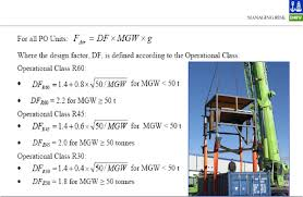 Dnv Padeye Design Calculation Dnv 2 7 3 Portableoffshoreunits Subsealiftingops Pdf