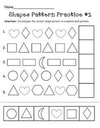 Patterns For Preschool Enchanting 48 Best Patterns Preschool Images On Pinterest Day Care