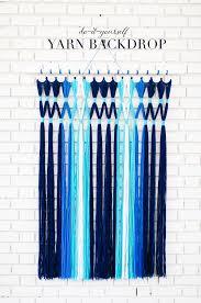 yarn backdrop