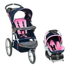 Baby Girl Travel System Strollers Baby Trend Expedition Swivel ...