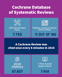 2018 Journal Impact Factor For Cochrane Database Of Systematic