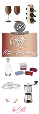50 best 10 year anniversary gifts that they will cherish forever