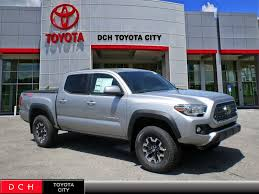 new 2018 toyota taa truck double cab trd off road v6 silver sky medford or lithia auto s stock tc180808