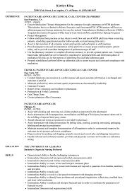 Patient Advocate Sample Job Description Liaison Resume Samples