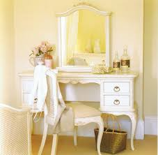 The Image Above Shows A Willis And Gambier Ivory Collection Dressing Table,  Mirror, Bedroom Chair And Bed Crafted From Birch And Combined With A Hand  ...