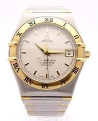 mens omega gold watch mens gold automatic omega watch