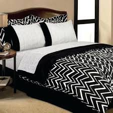 black and white bedspreads striped comforter sets king coverlet queen cream bedding