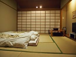 japanese bedroom furniture. Bedroom In Japanese Style Modest And Not Numerous Furniture Is .. E