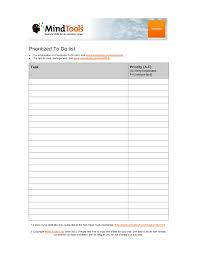 Priority List Templates 19 To Do List Templates And Examples Pdf Examples