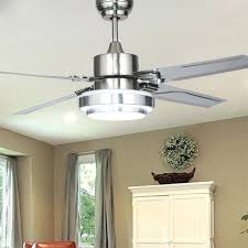 inch stainless steel ceiling fan led lamp 4 leaves modern with in fans from lights lighting 48 ceiling fan