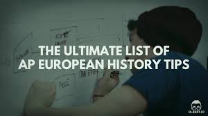 the ultimate list of ap european history tips io ap european history tips