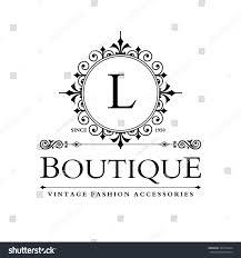 Business Monogram Designs L Letter Logo Monogram Design Elements Stock Vector Royalty