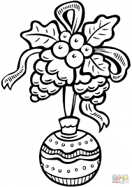 Small Picture Coloring Pages Christmas Decoration Colouring Pages Page