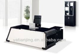modern office table design. Modern Glass Top Office Table Design S
