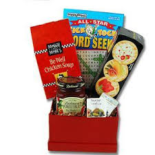 Novelty Doctors Note Get Well Gift Baskets Doctors Orders Get Well Basket Hillarys