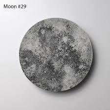 moon 3d disk 29 moon wall art texture