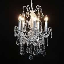 the milles 5 branch antique silver french chandelier lighting chandeliers