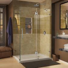 DreamLine Quatra Lux 46-5/16 in. x 32-1/4 in. x 72 in. Frameless Corner  Hinged Shower Enclosure in Chrome-SHEN-1332460-01 - The Home Depot